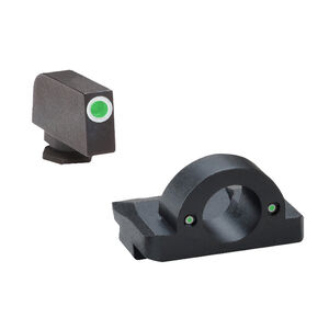 AmeriGlo Ghost Ring Night Sight Set For GLOCK, Steel