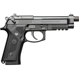 "Beretta M9A3 9mm Luger Semi Auto Pistol 5"" Threaded Barrel 17 Rounds Night Sights Type F Black"