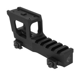 Knight's Armament Company Aimpoint Micro NVG high Rise Mount with 1913 Picatinny Rail Height Aluminum Matte Black Finish