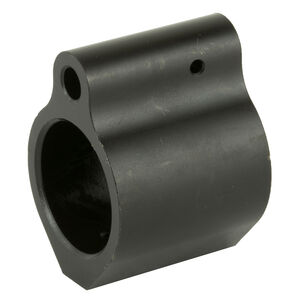 Spike's Tactical AR-15 .750 Diameter ST Micro Gas Block Solid Billet Steel Black Nitride Coating Matte Black Finish
