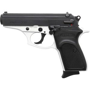 "Bersa Thunder .380 ACP Semi Auto Pistol 3.5"" Barrel 8 Rounds Black Polymer Grips Two Tone White/Black Finish"