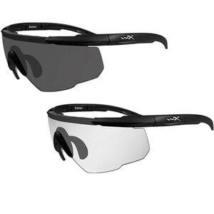 Wiley X Eyewear Saber Advanced Tactical Glasses Black/Gray 307