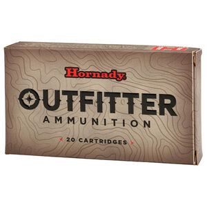 Hornady Outfitter .300 Weatherby Magnum Ammunition 20 Rounds 180 Grain GMX 82212