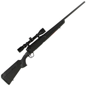 "Savage Axis XP Bolt Action Rifle 7mm-08 Remington 22"" Barrel 4 Rounds Detachable Box Magazine Weaver 3-9x40 Riflescope Synthetic Stock Matte Black Finish"