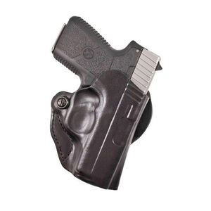 DeSantis Mini Scabbard Belt Holster Ruger EC9s Right Hand Leather Black 019BAV5Z0