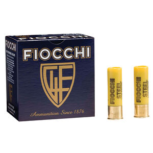"Fiocchi Shooting Dynamics Low Recoil Steel 20 Gauge Ammunition 2-3/4"" #7 Steel Shot 7/8oz 1225 fps"