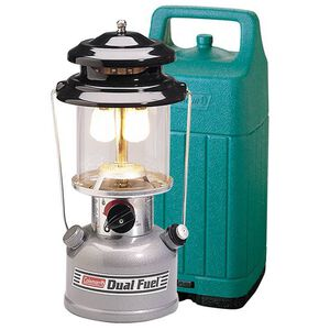 Coleman Dual Fuel 2 Mantle Lantern with Case