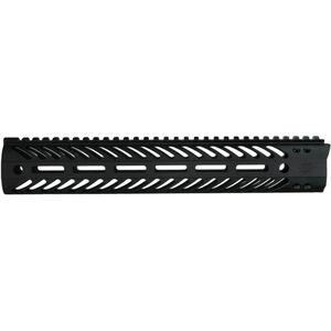 """Seekins Precision MCSR V2 AR-15 Free Float Handguard 12"""" M-LOK Aluminum Black 10530033"""