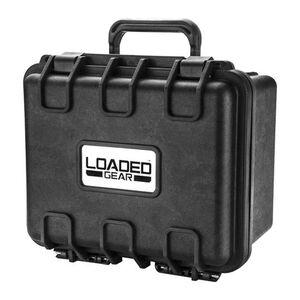"""Barska Loaded Gear HD-150 9.56"""" x 7.16"""" Hard Case Polypropylene Black"""