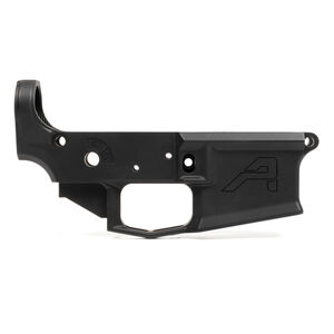 Aero Precision AR-15 M4E1 Stripped Lower Receiver .223/5.56 Billet Aesthetics/Forged 7075-T6 Aluminum Anodized Matte Black Finish