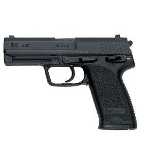 "HK USP 45 V1 DA/SA Semi Auto Pistol .45ACP 4.41"" Barrel 10 Rounds Night Sights Fiber Reinforced Frame Matte Black"