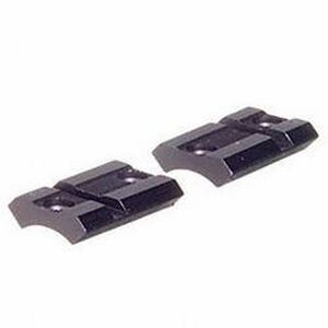 Weaver No. 418M Base CVA Traditions & Winchester Muzzleloader Standard 2-Piece Detachable Top-Mount Base Front & Rear Black Matte