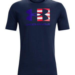 Under Armour Men's Big Flag Logo T-Shirt