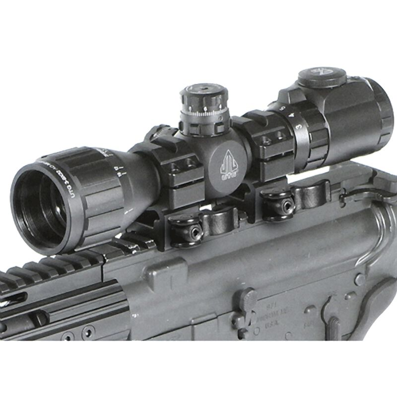 """Leapers UTG 3-9x32 BugBuster Riflescope 1"""" Tube AO 36 Color Mil Dot Black SCP-M392AOIEWQ"""