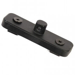 Guntec AR-15 Bipod Adapter for M-LOK System Aluminum Steel Black