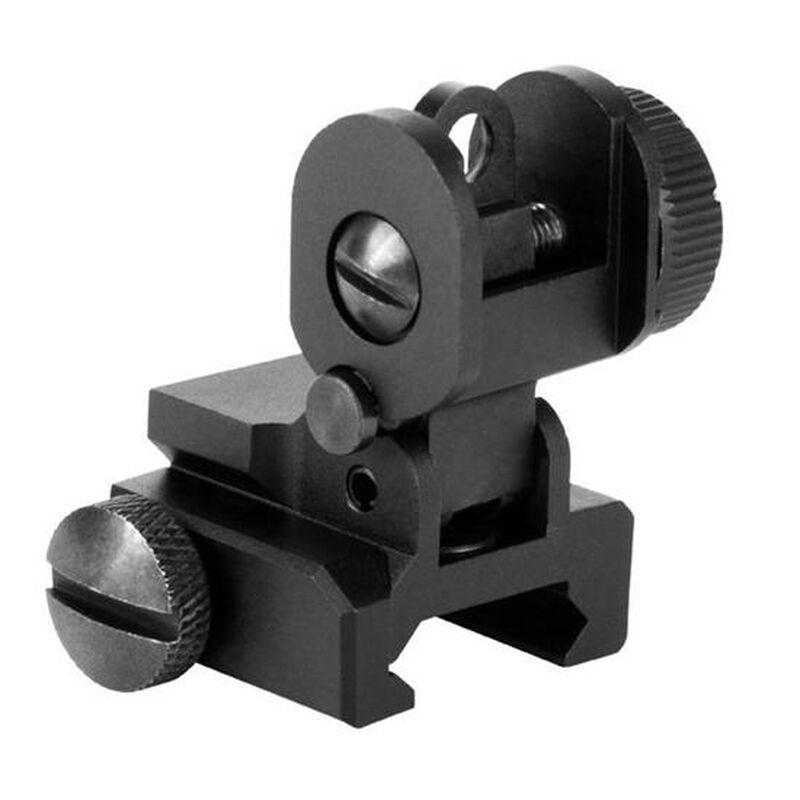 AIM Sports AR-15 Rear Sight with Flip-Up Dual Aperture