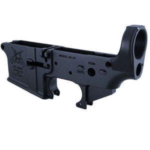 KE Arms KE-15 AR-15 Stripped Lower Receiver Forged Aluminum Matte Black