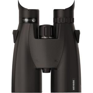 Steiner HX1056 Binoculars 10x56mm High Precision Roof Prism Makrolon Housing NBR Rubber Armor Black