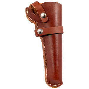 The Hunter Company 1100 Series Belt Holster Size 52 Right Hand Draw Top Grain Leather Brown