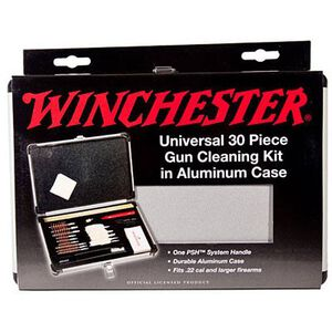 Winchester Universal Cleaning Kit by DAC Technologies 30 Pieces Aluminum Case