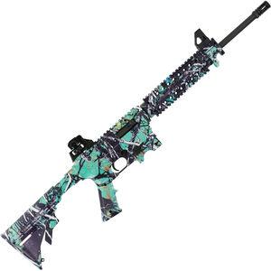 "Mossberg 715T .22 LR AR Style Semi Auto Rimfire Rifle 16.25"" Barrel 25 Rounds Collapsible Stock Muddy Girl Serenity Camo Finish"