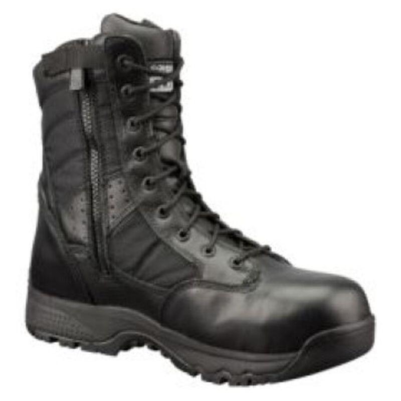 "Original S.W.A.T. Metro Safety Boots 9"" Waterproof Side Zip Leather/Nylon Rubber Size 11.5 Regular Black 129101-11.5/EU45"