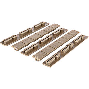 Trinity Force Universal Rail Covers Key-Mod/M-LOK Polymer Tan