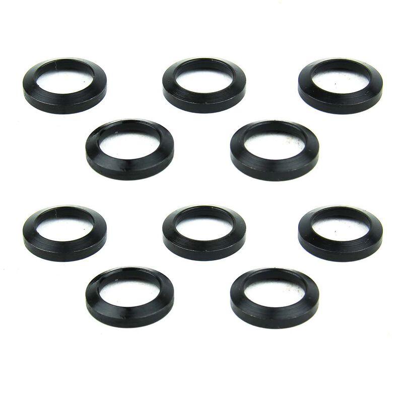 TacFire AR-15 .223 Muzzle Brake Crush Washer Steel Black 10 Pieces MAR059B
