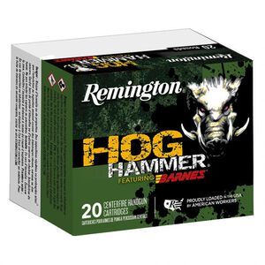 Remington Hog Hammer Copper .45 Long Colt Ammunition 20 Rounds 200 Grain Barnes XPB Copper Hollow Point 1025fps