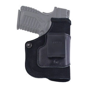 Galco Stow-N-Go SIG Sauer P938 with Viridian Reactor IWB Holster Right Hand Leather Black