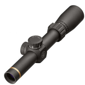 "Leupold VX-Freedom 1.5-4x20 Riflescope Duplex Non-Illuminated Reticle 1"" Tube .25 MOA Adjustments Finger Click Turrets Second Focal Plane Matte Black Finish"