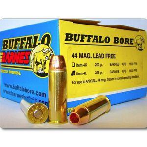 Buffalo Bore Heavy .44 Rem Mag 225 Grain XPB 20 Round Box