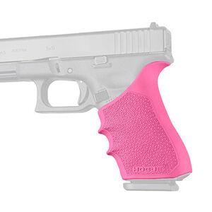 Hogue HandAll Beavertail Grip Sleeve Fits GLOCK 17/22/19X Gen 1-2-5 Pink