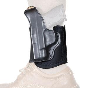 DeSantis Die Hard Ankle Holster fits SIG Sauer P365 Left Hand Leather Black
