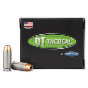 DoubleTap Equalizer 10mm Auto Ammunition 20 Rounds JHP+Ball 190 Grains 10M190E20
