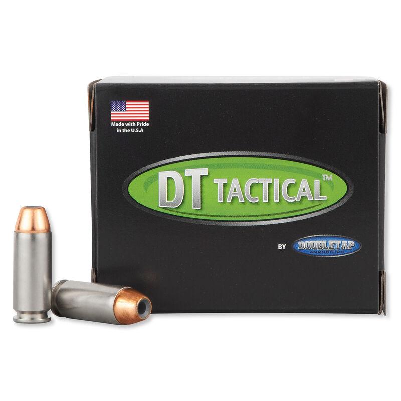DoubleTap Equalizer 10mm Auto Ammunition 20 Rounds JHP+Ball 190 Grains 10M190E20