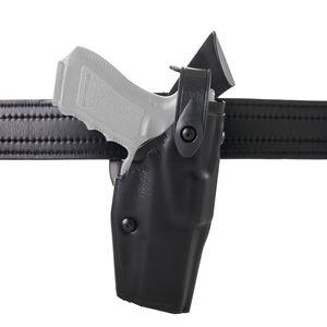 Safariland Model 6360 S&W M&P 45 (No Thumb Safety) ALS/SLS Mid Ride Level III Retention Duty Holster Right Hand STX Plain Black 6360-419-61