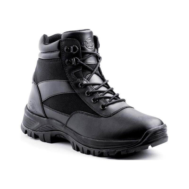"Dickies Javelin 6"" Tactical Soft Toe Men's Work Boot Size 8.5 Black"
