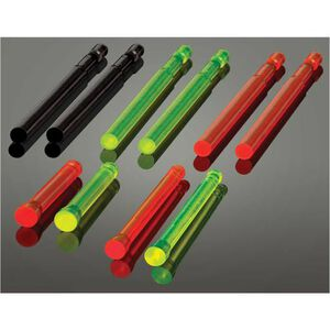 HiViz LITEWAVE 10 Handgun Replacement LitePipe Set Red/Green/Black Fiber Optic