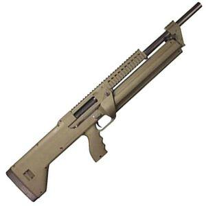 "SRM Arms SRM-1216 Semi Auto Shotgun 18.5"" Barrel 16 Rounds FDE Polymer Stock Matte Black"