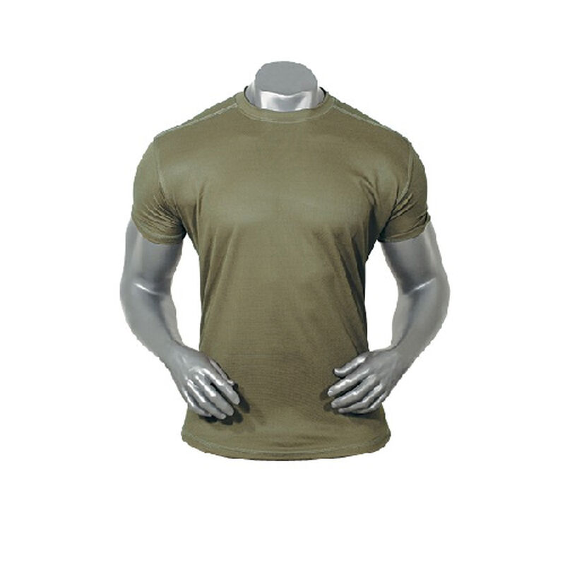Voodoo Tactical Skinz Moisture Wicking Anti-Microbial T-Shirt Size X-Large OD Green 996504096