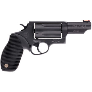 "Taurus Judge .45 Colt/.410 Double Action Revolver 3"" Barrel 2.5"" Chamber 5 Rounds Matte Black Oxide Finish"