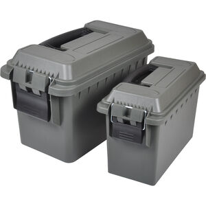 Reliant Ranger Rugged Gear 30 and 50 Cal Ammo Box Combo Polymer Green