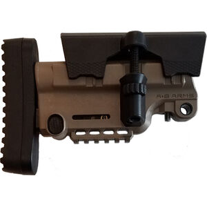 AB Arms Urban Sniper Stock X Mil-Spec Fully Adjustable Fixed Stock Polymer FDE
