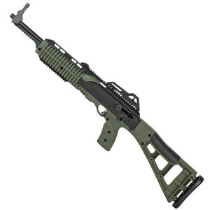 "Hi-Point Carbine 9mm Luger Semi Auto Rifle 16.5"" Barrel 10 Rounds Polymer Stock Olive Drab Green Finish"