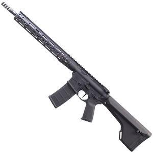 "LWRC IC DI Competition AR-15 Semi Auto Rifle 5.56 NATO 16"" Barrel 30 Rounds Direct Impingement LWRCI Extended 14"" M-LOK Freefloat Rail Skirmish Sights Adjustable Stock Black"