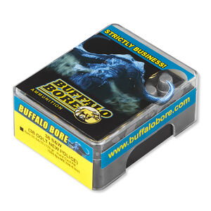 Buffalo Bore .38 S&W Ammunition 20 Rounds Lead HC-FN 125 Grains 20.5A/20