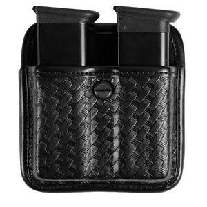 Bianchi 7922 AccuMold Elite Triple Threat II Beretta 8045, GLOCK 20/21  Double Magazine Pouch Basketweave Black 22696