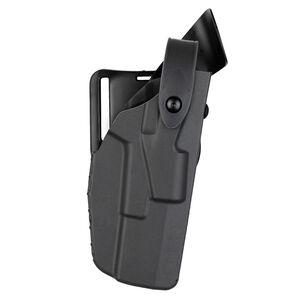 Safariland 7360 ALS/SLS Mid-Ride Level III Retention Duty Holster Fits Glock 17/22 With Light Right Hand Plain Finish Black