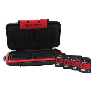 Stealth Cam Memory Card Storage Case w SD Cards